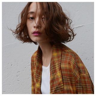 ストリート ワンカール ボブ 外国人風 ヘアスタイルや髪型の写真・画像