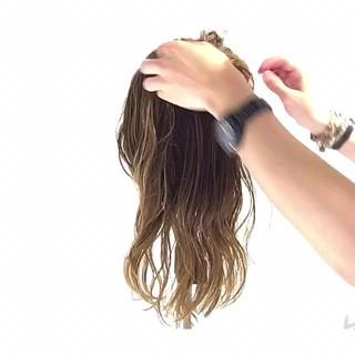 簡単ヘアアレンジ ナチュラル 女子会 ショート ヘアスタイルや髪型の写真・画像