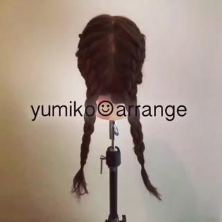 ゆるふわ 謝恩会 ヘアアレンジ ロング ヘアスタイルや髪型の写真・画像