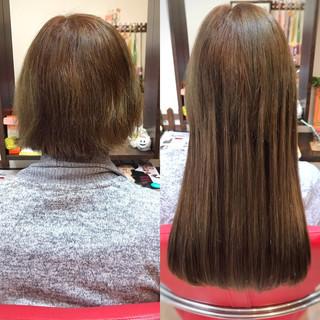 ハイトーン ロング ハイライト 大人女子 ヘアスタイルや髪型の写真・画像