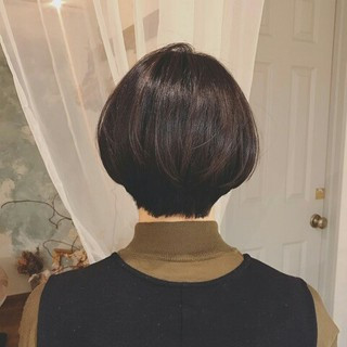 デート ゆるふわ ショート 冬 ヘアスタイルや髪型の写真・画像