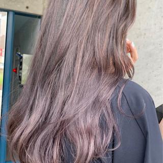 透明感カラー グラデーションカラー ナチュラル ブリーチ必須 ヘアスタイルや髪型の写真・画像