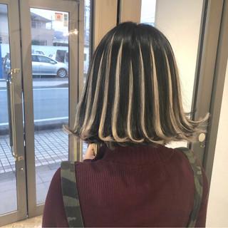 成人式 ストリート 3Dハイライト 外国人風 ヘアスタイルや髪型の写真・画像