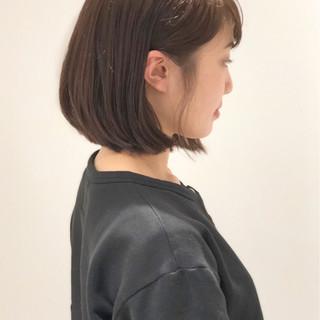ボブ ナチュラル ヘアアレンジ デート ヘアスタイルや髪型の写真・画像