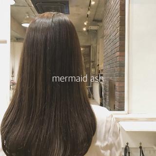 ロング 外国人風カラー ナチュラル ヘアカラー ヘアスタイルや髪型の写真・画像