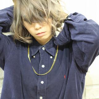 モード 外国人風 ハイトーン 透明感 ヘアスタイルや髪型の写真・画像