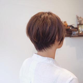 ショートヘア 前下がりショート ベリーショート ショートボブ ヘアスタイルや髪型の写真・画像