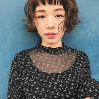 フェミニン ミルクティー 春 ゆるふわ ヘアスタイルや髪型の写真・画像