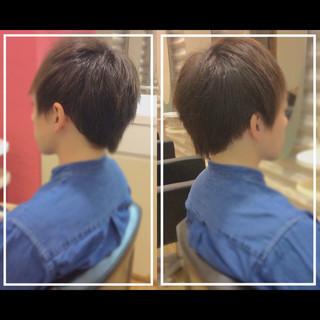 社会人の味方 ショート 大人ヘアスタイル 髪質改善カラー ヘアスタイルや髪型の写真・画像