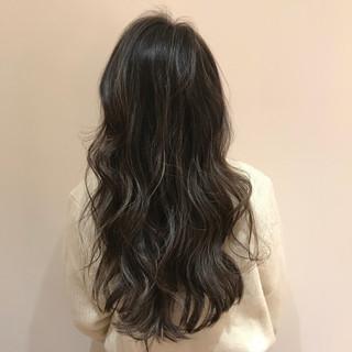 外国人風カラー 地毛ハイライト ハイライト ロング ヘアスタイルや髪型の写真・画像
