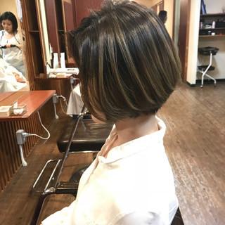 外国人風 モード バレイヤージュ 外国人風カラー ヘアスタイルや髪型の写真・画像