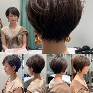 吉瀬美智子 30代 40代 ショート ヘアスタイルや髪型の写真・画像