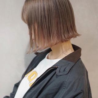 透明感 ミルクティー ミルクティーベージュ ナチュラル ヘアスタイルや髪型の写真・画像