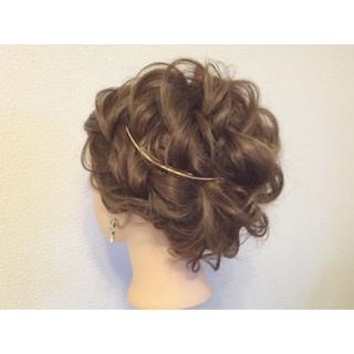 ガーリー 結婚式 成人式 ロング ヘアスタイルや髪型の写真・画像