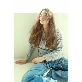 外国人風 ロング パンク ストリート ヘアスタイルや髪型の写真・画像
