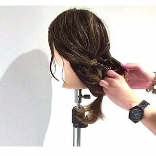 女子会 ショート ナチュラル 結婚式 ヘアスタイルや髪型の写真・画像