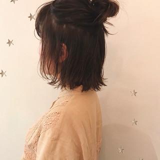 stylist 市川千夏さんのヘアスナップ