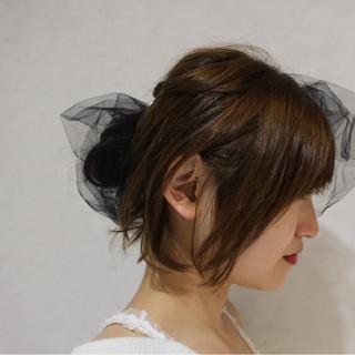 ショート ゆるふわ アッシュ 外国人風 ヘアスタイルや髪型の写真・画像
