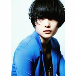 黒髪 ストリート ショート かっこいい ヘアスタイルや髪型の写真・画像