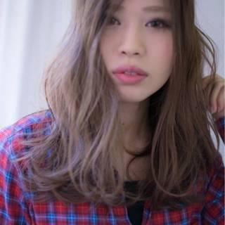 大人かわいい モテ髪 センターパート コンサバ ヘアスタイルや髪型の写真・画像