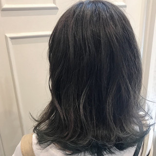 外国人風 ハイライト デート ブリーチ ヘアスタイルや髪型の写真・画像