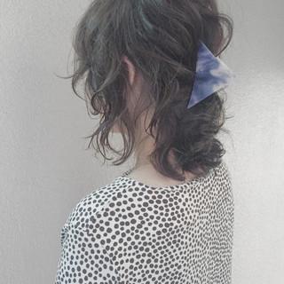 くせ毛風 パーマ ストリート 外国人風 ヘアスタイルや髪型の写真・画像