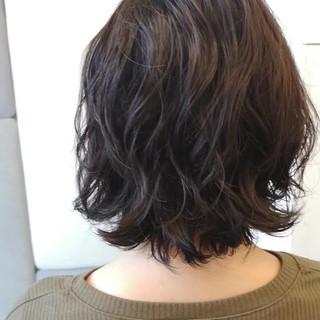 黒髪 ボブ 大人女子 エレガント ヘアスタイルや髪型の写真・画像