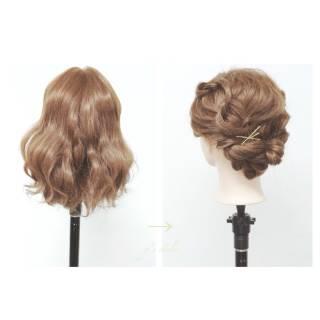 ストリート 簡単ヘアアレンジ 春 アップスタイル ヘアスタイルや髪型の写真・画像 ヘアスタイルや髪型の写真・画像