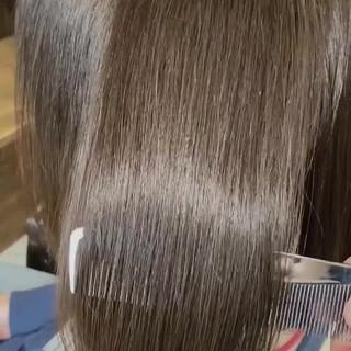 ナチュラル 髪質改善カラー 艶髪 oggiotto ヘアスタイルや髪型の写真・画像