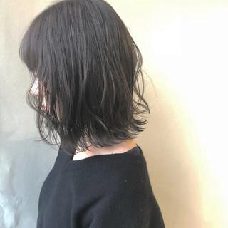 ナチュラル ボブ イルミナカラー 女子力 ヘアスタイルや髪型の写真・画像