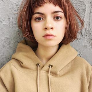 ヘアアレンジ ミニボブ ボブ ナチュラル ヘアスタイルや髪型の写真・画像