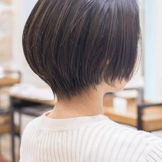 ボブ ショートヘア ショートカット ショートボブ ヘアスタイルや髪型の写真・画像