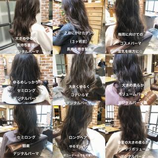 ナチュラル 簡単ヘアアレンジ ゆるふわ ロング ヘアスタイルや髪型の写真・画像