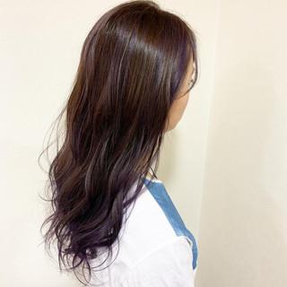 ハイライト デート ガーリー ロング ヘアスタイルや髪型の写真・画像