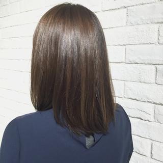 ストリート アッシュ 暗髪 ハイライト ヘアスタイルや髪型の写真・画像
