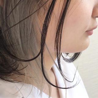 シルバー ホワイト グレー ストリート ヘアスタイルや髪型の写真・画像
