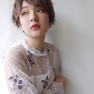玉井千咲さんのヘアスナップ