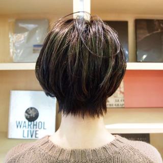 デート ショートヘア ショートボブ ショート ヘアスタイルや髪型の写真・画像