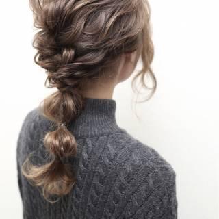 外国人風 ヘアアレンジ 大人かわいい ストリート ヘアスタイルや髪型の写真・画像