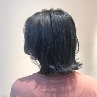 ブルージュ ボブ 透明感カラー ブリーチなし ヘアスタイルや髪型の写真・画像
