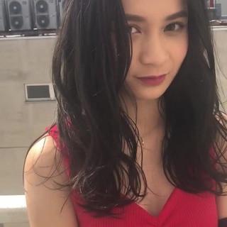 前髪あり アンニュイ ゆるふわ 大人かわいい ヘアスタイルや髪型の写真・画像