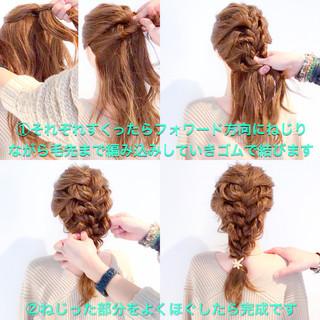 謝恩会 エレガント 上品 簡単ヘアアレンジ ヘアスタイルや髪型の写真・画像 ヘアスタイルや髪型の写真・画像