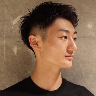ボーイッシュ 刈り上げ ストリート メンズ ヘアスタイルや髪型の写真・画像