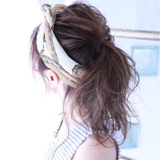 ハイライト アウトドア アッシュ グレージュ ヘアスタイルや髪型の写真・画像
