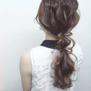 コンサバ ナチュラル モテ髪 愛され ヘアスタイルや髪型の写真・画像