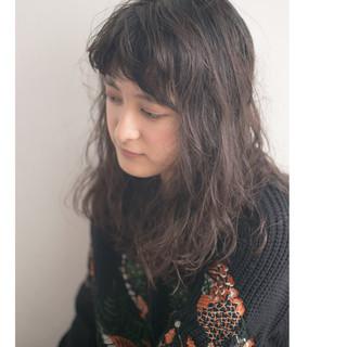 ニュアンス カール モード ナチュラル ヘアスタイルや髪型の写真・画像 ヘアスタイルや髪型の写真・画像