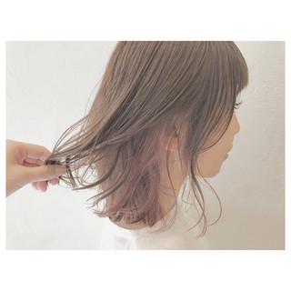 リラックス ウェーブ デート ストリート ヘアスタイルや髪型の写真・画像