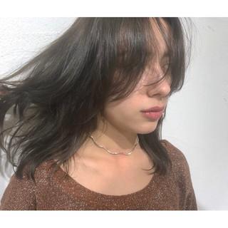 ナチュラル 外国人風カラー ミディアム 透明感 ヘアスタイルや髪型の写真・画像 ヘアスタイルや髪型の写真・画像