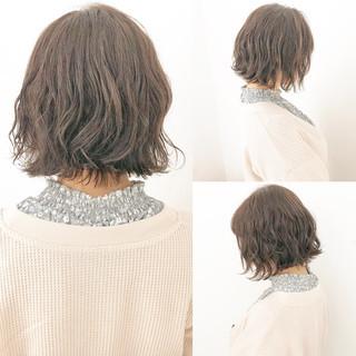 結婚式 黒髪 ボブ 簡単ヘアアレンジ ヘアスタイルや髪型の写真・画像 ヘアスタイルや髪型の写真・画像
