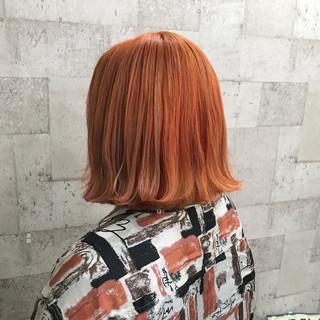 ブリーチ ストリート ボブ 外国人風カラー ヘアスタイルや髪型の写真・画像 ヘアスタイルや髪型の写真・画像